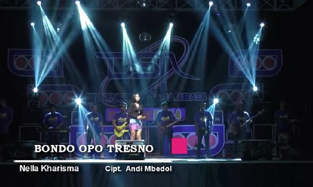 Lagu Dangdut Koplo Nella Kharisma - Bondo Opo Tresno