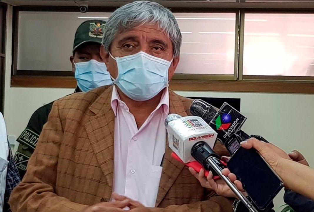 Ministro de Obras Públicas, Iván Arias / ABI