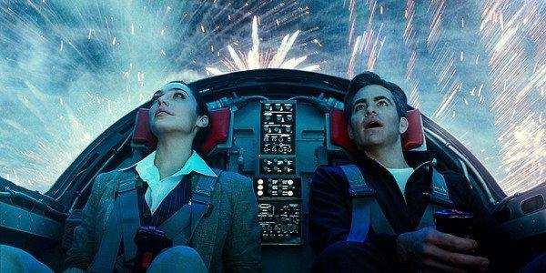 Gal Gadot y Chris Pine. Imagen de HBO Max.