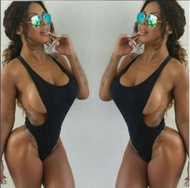 Ariany Nogueira publica foto com look ousado e manda recado em rede social