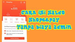 Cara Isi Saldo ShopeePay di Alfamart dan Indomaret Tanpa Biaya Admin
