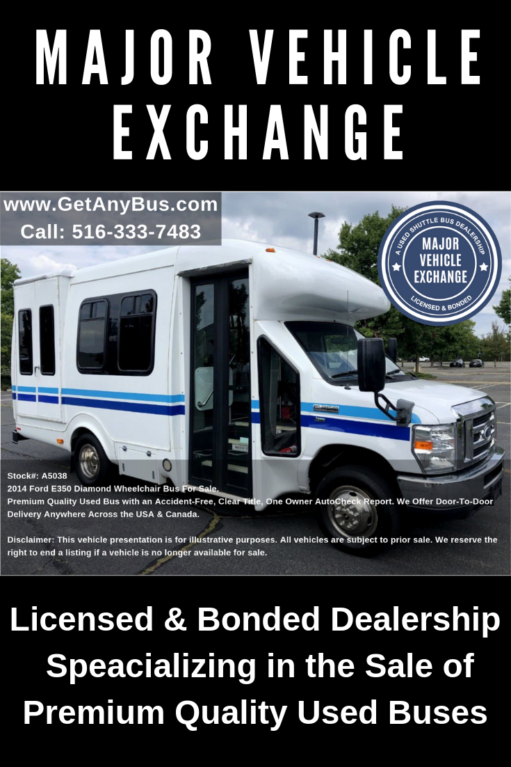 The Used Buses and Wheelchair Vans Specialist - Shuttle ...