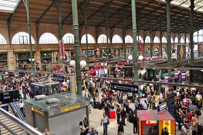 Lima Stasiun Kereta Paling Sibuk di Dunia