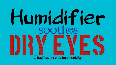 Humidifier soothes dry eyes @healthbiztips