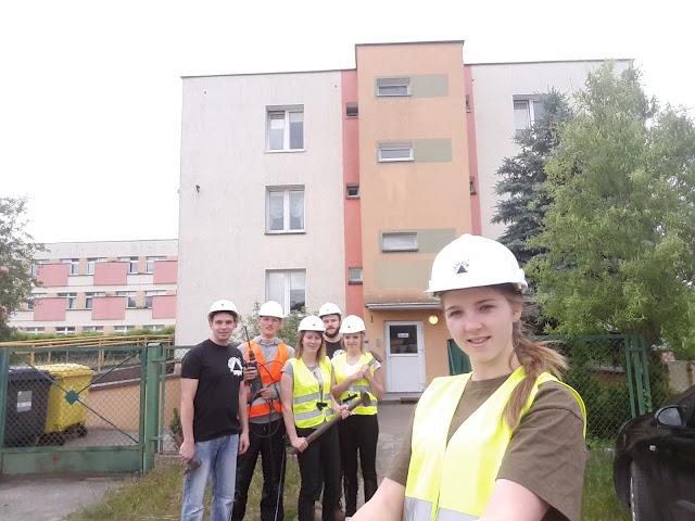 Remont w Bydgoskim Zespole Placówek Opiekuńczo-Wychowawczych przy ulicy Łomżyńskiej 54