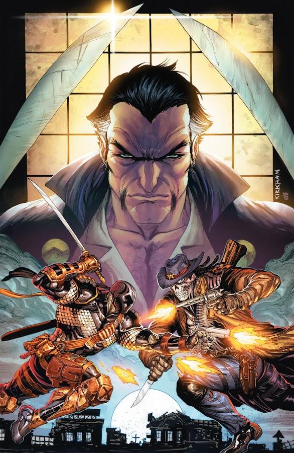 deathstroke slade wilson vs lawman dead bastards ra's al ghul dc comics new 52 tyler kirkham