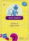 My Little Pony Wave 5 Trixie Lulamoon Blind Bag Card