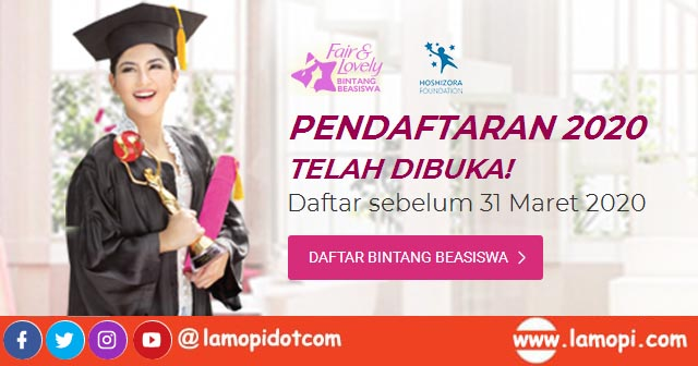 Bintang Beasiswa Fair & Lovely 2020