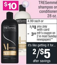 TRESemme Anti Breakage Shampoo or Conditioner