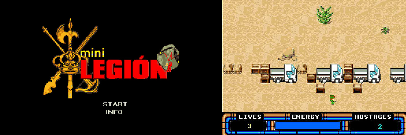 Indie Retro News Mini Legión A New Amiga Game Set For Release