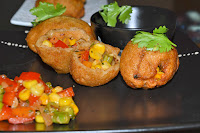 Colourful Bread Patties