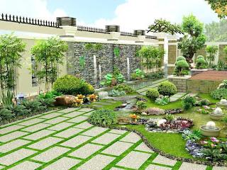 Một số tiêu chí chọn gạch lát sân vườn