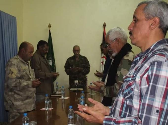 الرئيس إبراهيم غالي يترأس اجتماعا استثنائيا لمكتب الأمانة الوطنية على إثر وفاة القيادي أمحمد خداد