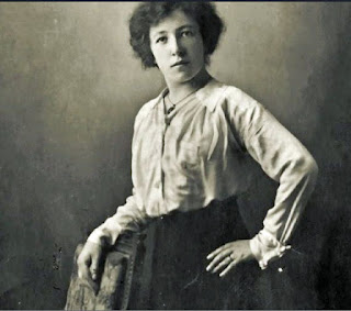 A WWI female spy - Louise de Bettignies - featured in the historical novel The Alice Network