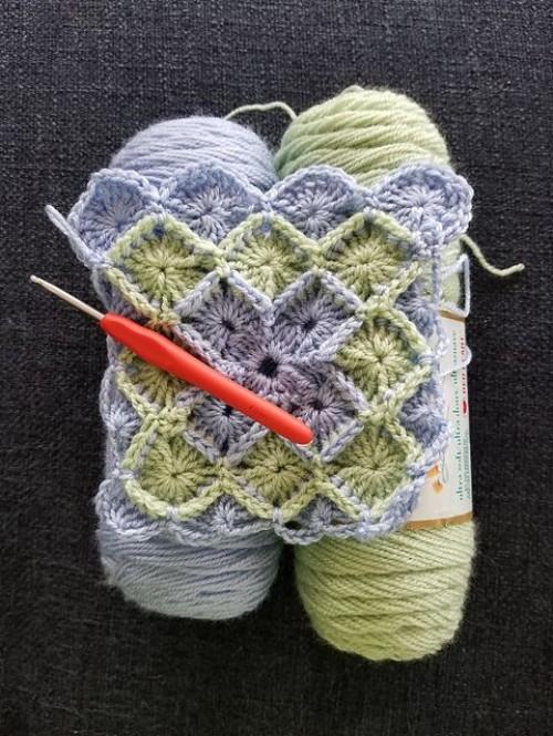 Stunning Bavarian Crochet Afghan - Free Pattern