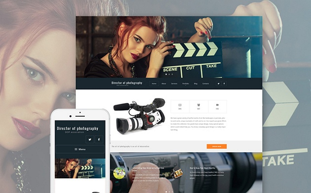 Charming and Remarkable Photography WordPress Theme