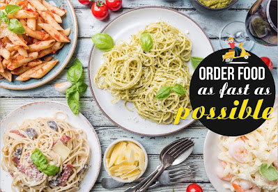 order food as fast as Possible