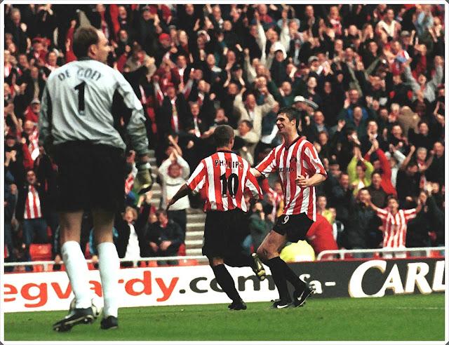 Kevin Phillips Niall Quinn Chelsea Sunderland 1999