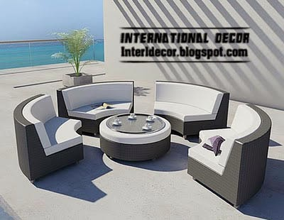 modern outdoor furniture set, modern outdoor furniture