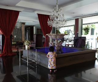 Lobby hotel bandung