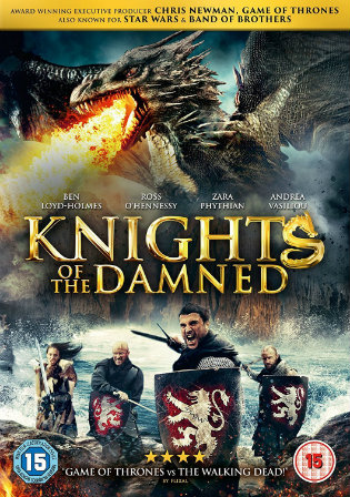 Knights of The Damned 2017 BRRip 750MB Hindi Dual Audio 720p