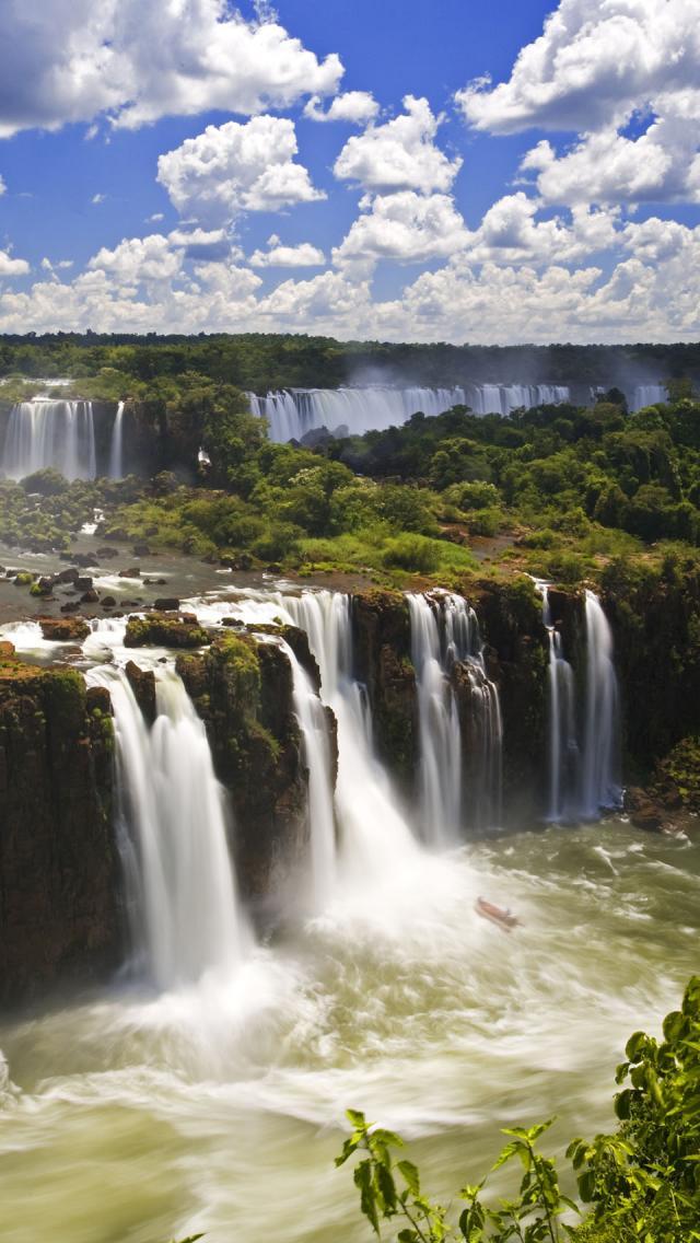 Iguazul Falls Wallpaper Pz C Iguazu Falls Brazil