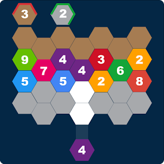 Hexa Attack: Shoot and Merge Numbers