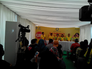 Press Conference Ayo Indonesia Lawa Diabetes