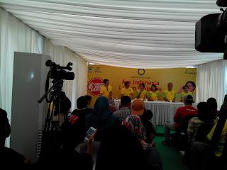 Press Conference Ayo Indonesia Lawa Diabetes
