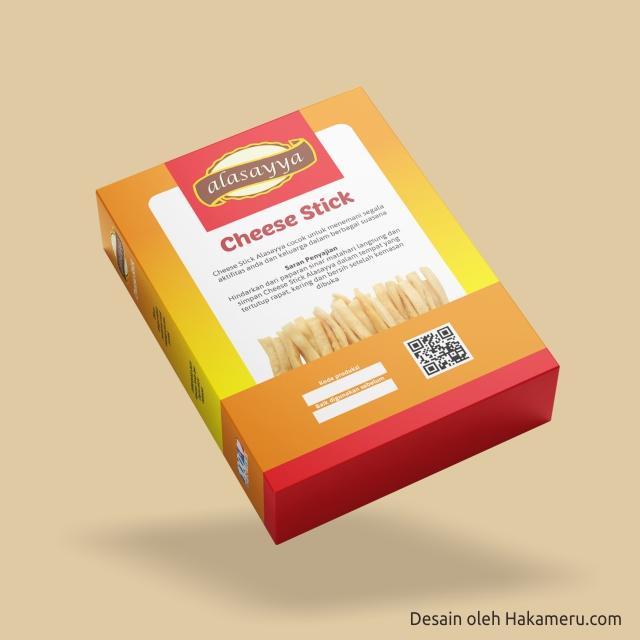 Desain Kemasan Packaging Box Cheese Stick