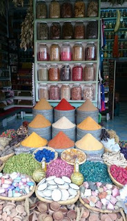 Los zocos de Marrakech, Plaza de las Especias.