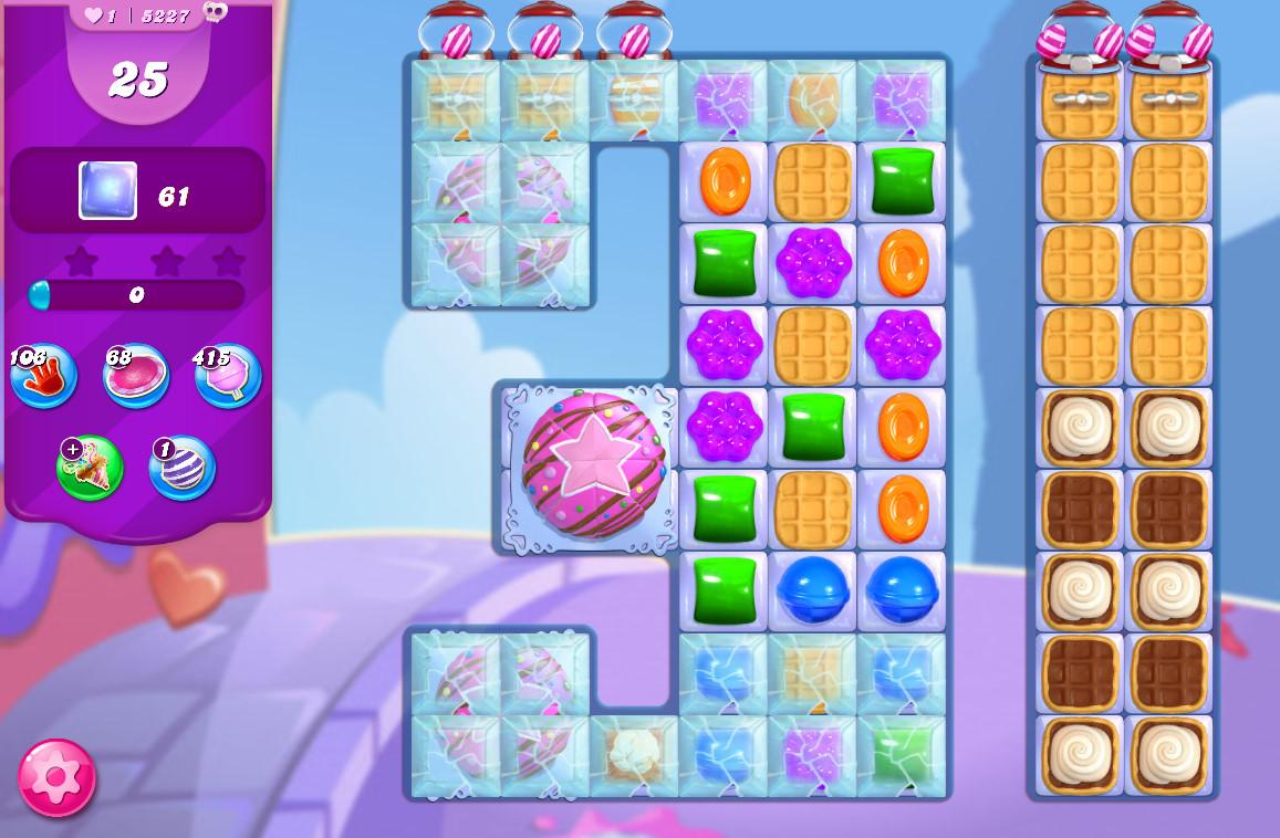 Candy Crush Saga level 5227