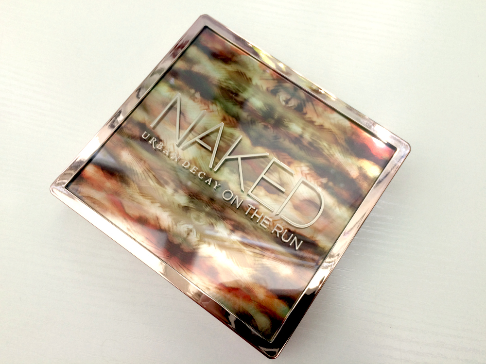 Urban Decay Naked on the Run Palette review