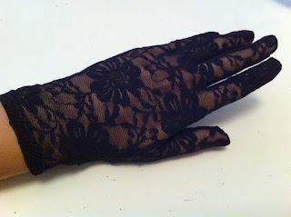 siyah dantel eldiven satın al
