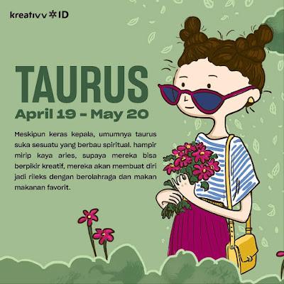 Tips tambah kreatif zodiak TAURUS
