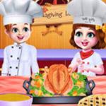 لعبة الشيف التوائم عشاء الطبخ
