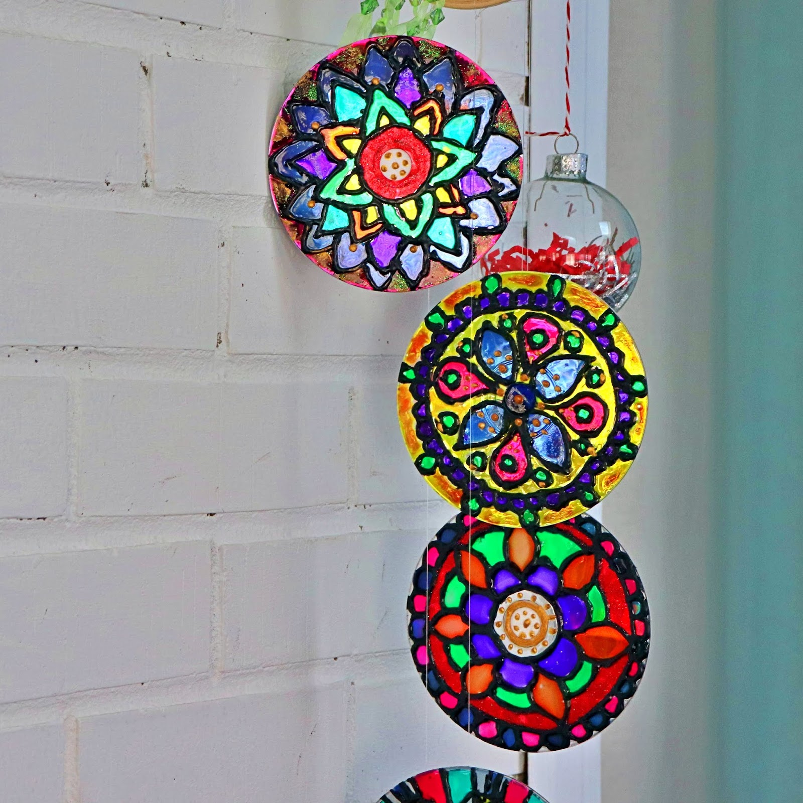 Create With Mom Glass Painting On Cds