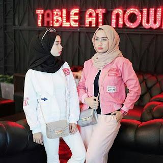 model jaket kekinian wanita