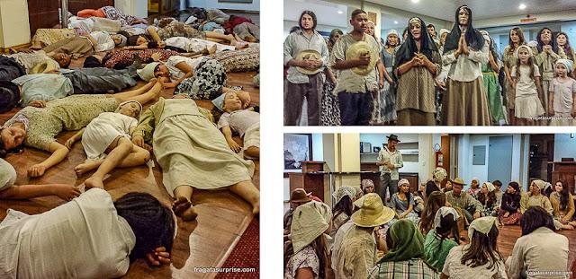 Peça teatral sobre a Guerra do Contestado, União da Vitória, Paraná