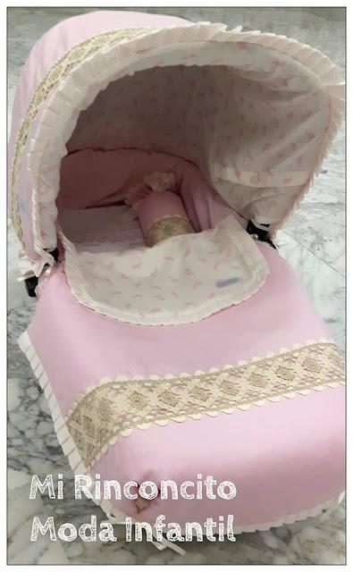 cuco Bebecar IpOp personalizado en rosa