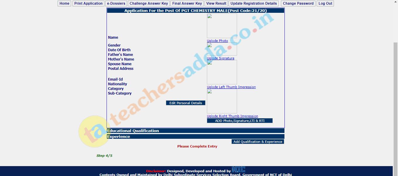 DSSSB Online Form 2021: Apply Online For 12000+ TGT, PRT & Other Posts_70.1