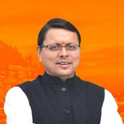 युवा मोर्चा के प्रदेश अध्यक्ष रह चुके  पुष्कर सिंह धामी बने प्रदेश के 11 वे मुख्यमंत्री