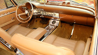 1962 Chrysler 300H Convertible Cabin Interior