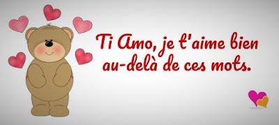 Ti amo, Je t'aime !
