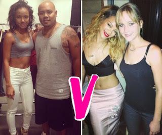 Karrueche mirip dengan Rihanna
