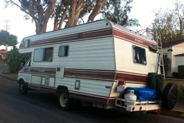 used rvs 22ft dodge motorhome for sale for sale by owner. Black Bedroom Furniture Sets. Home Design Ideas