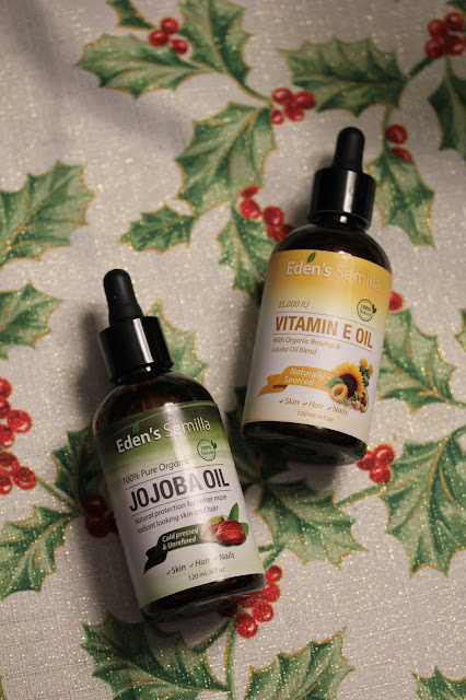 Eden's Semilla Vitamin E Oil and Pure Jojoba Oil