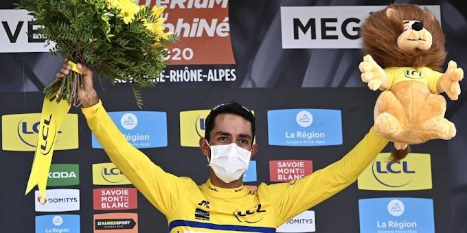 ¡Orgullo colombiano! Daniel Felipe Martínez, campeón del Criterium Dauphiné