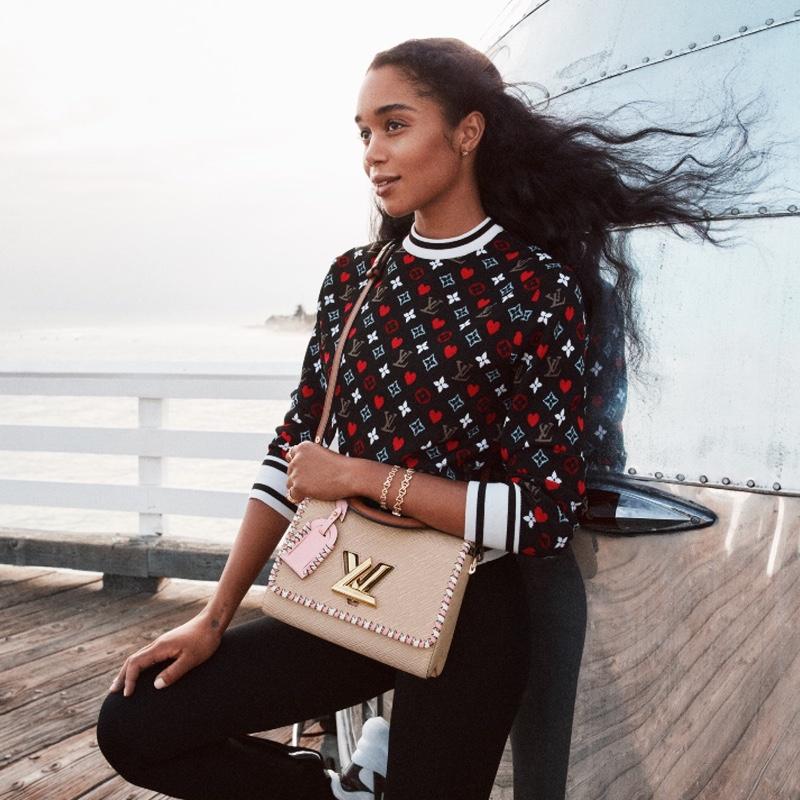 Louis Vuitton unveils Twist handbag spring-summer 2021 campaign.