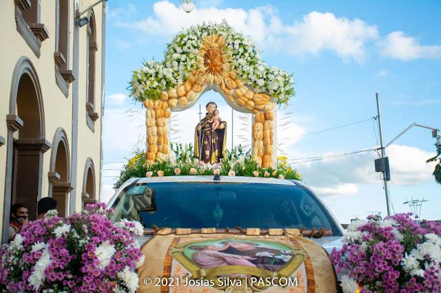 REGIÃO: Fiéis celebraram Santo Antônio em Agrestina
